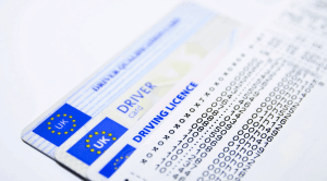 Driving without tachograph card